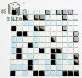 Mattonelle di mosaico di ceramica di stile 25*25mm della mucca per la decorazione, la cucina, la stanza da bagno e la piscina