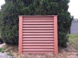 Antiséptico decorativos de madera al aire libre cerca de compuesto de plástico paneles con 7 colores o personalizado