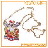 Medalla dura de encargo de la placa del esmalte para los regalos ((YB-MD-48)