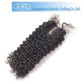 Un encierro atado pelo rizado dispensador de aceite del pelo del cordón del estilo libre del enrollamiento