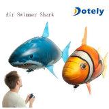 공기 헤엄치는 사람 팽창식 비행 상어 보충 풍선