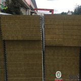 Gegalvaniseerde Met een laag bedekte Staalplaat Rockwool/het Comité van de Muur van de Sandwich van de Glaswol