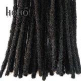 Produto de venda quente 10 Polegadas Extensão de cabelo humano negro Dreadlocks croché
