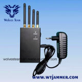 4 Bande 2W 4G LTE portable et téléphone mobile 3G le brouilleur