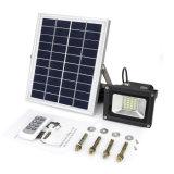 Прожектор регулируемого дистанционного управления 10W яркости напольного водоустойчивого солнечный