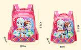 Saco de escolas para raparigas Cartoon Fotos Mochila Escolar Saco de ombro com duas vezes para o aluno da escola primária Studets