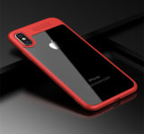 iPhone 8 аргументы за телефона бакборта Silcone TPU+Acrylic