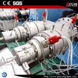 Machine jumelle conique d'extrudeuse de pipe de PVC de profil de PVC de vis