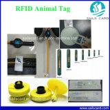 Tube de verre de puce d'IDENTIFICATION RF d'implant de l'information d'identification de marque d'oreille d'animal familier