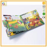 Alta impresión del libro de la tarjeta de los niños de Qaulity (OEM-GL007)