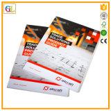 高いQaulityの薄紙表紙の本の印刷サービス(OEM-GL002)
