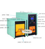 оборудование заварки индукции топления индукции вковки наковальни ковки чугуна 40kw