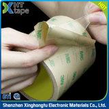 Bande adhésive dégrossie acrylique anti-calorique transparente de cachetage de PVC double