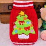 Kleren Doggie, de Sweater van Kerstmis van de Levering van het huisdier de Rode Groene van de Hond