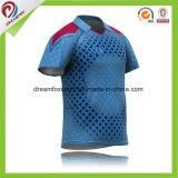 Jerseys를 인쇄하는 새로운 인도 귀뚜라미 팀 저어지 새로운 디자인 귀뚜라미 Jerseys 가득 차있는 승화
