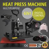 Vevor 6 in 1 Übergangssublimation-Wärme-Presse-Maschine