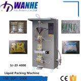 Machine de remplissage moyenne de cachetage de sac liquide automatique de sachet