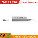 12V 8A 100W Waterproof a fonte de alimentação do interruptor para o módulo do diodo emissor de luz