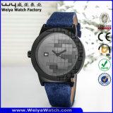 方法偶然の水晶女性腕時計(Wy-115C)