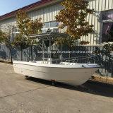 China 5m de Kleine Boot van Panga van de Glasvezel van het Jacht van de Vissersboot van de Snelheid