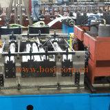 Cadena de producción perforada de la bandeja de cable rodillo que forma a surtidor Qatar de la máquina