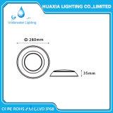 3000K SMD LED de Montagem Saliente Piscina Luz subaquática