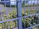 PVC上塗を施してある二重ワイヤーボーダー防御フェンス