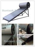 Calefator de água solar pressurizado elevado da placa lisa de Suntask