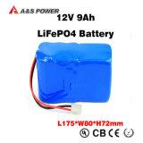 4s4p 12V 14Ah de ciclo profundo de litio de la vida de batería solar LiFePO4