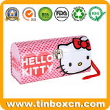 ギフト真新しいキャンデーのための包装ボックスこんにちはキティの金属の錫
