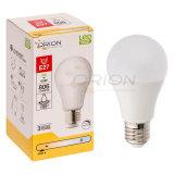 SAA에 의하여 증명되는 E27 7W LED A60 램프 전구