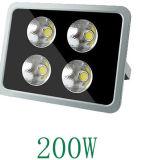 o projector do diodo emissor de luz 200W, impermeável, IP65, 120-277V, imediatos sobre, Ce e RoHS certificaram