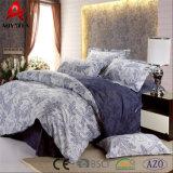 100ポリエステルMicrofiberの寝具セット、美しく標準的な寝具セット