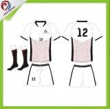 Le football professionnel personnalisé neuf Jersey de vêtements de sport chauds de modèle de Dreamfox 2017