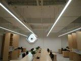 보장에 의하여 천장 거치되는 LED 선형 가벼운 실내 사무실 빛 3 년