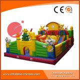 Aufblasbares springendes Moonwalk-Spielzeug-springendes Schloss für Vergnügungspark (T6-002)