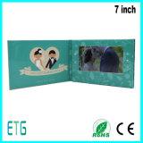 7 인치 IPS/HD 결혼식 권유 카드