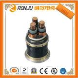 Fita de aço Isolados em XLPE cabo de alimentação com bainha de PVC blindado Yjv22