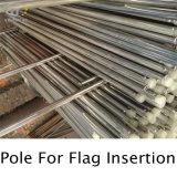Надежной Flagpole качества сплющенный нержавеющей сталью и гигантский флаг Поляк