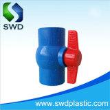 Estándar de PVC Tis Compact con válvulas de bola de color azul
