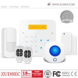 侵入者のWiFiの家のホームセキュリティーの無線強盗GSMの警報システム