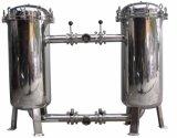 Filtro de saco frente e verso com carcaça de filtro do aço inoxidável
