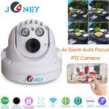 4x Mini-Size 4 polegada de segurança CCTV PTZ Câmera IP WiFi