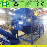 Resíduos plásticos poliamida PA66 pH PMMA QUADRIS Reciclagem garrafa de leite a linha de lavagem