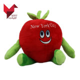 Het in het groot Stuk speelgoed van de Appel van de Pluche Vruchten Gevulde
