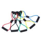 La resistencia de la cuerda de Yoga Pilates ejercicios Fitness del tubo de ejercicio de estiramiento de las bandas