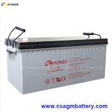 12V 250 Ач аккумулятор Гелиевый аккумулятор для солнечной батареи и источника питания