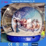 Globo gonfiabile gigante per la cupola di nevicata di festa per natale