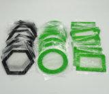 Custom grand fumeur tapis DAB avec du silicone et de la fibre de verre