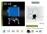 Drei Antidreh8 Zeile grüne Laser-Stufe